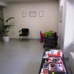 sala de espera clínica homeopatía en madrid