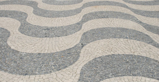 Lissabonner Bürgersteige