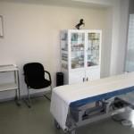 sala de exploración para pacientes con dolores