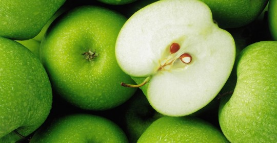 Una manzana al día