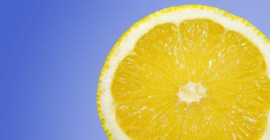 Limón como medicamento